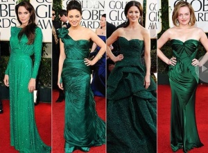 dresses at golden globe awards