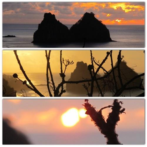 Pôr-do-sol no Mirante do Boldró