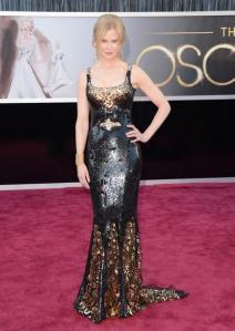 Não curti o look da Nicole Kidman.