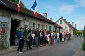 Giverny-queue